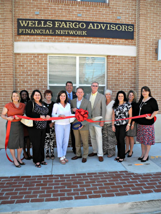 Wells Fargo Advisors Financial Network - April - Ribbon-Cuttings & Ground-Breakings