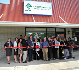 Cypress Pointe Family Healthcare - May - Ribbon-Cuttings & Ground-Breakings