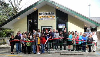 Bar-B-Que Station in Hammond - December - Ribbon-Cuttings & Ground-Breakings