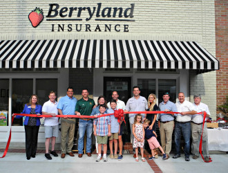 Berryland Insurance - August - Ribbon-Cuttings & Ground-Breakings