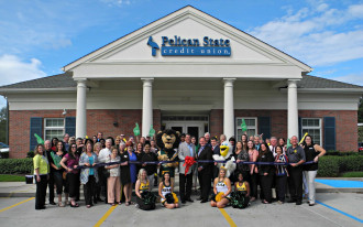 Pelican State Credit Union - September - Ribbon-Cuttings & Ground-Breakings