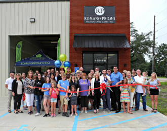 Romano Promotions, LLC - July - Ribbon-Cuttings & Ground-Breakings