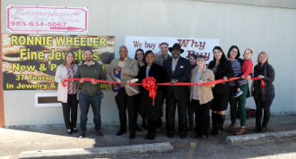 Ronnie Wheeler's Fine Jewelers - November - Ribbon-Cuttings & Ground-Breakings